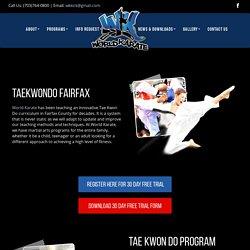 Taekwondo Program in Fairfax
