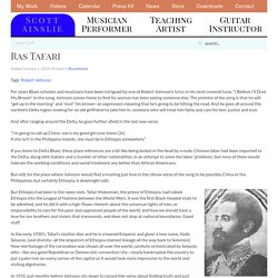 Ras Tafari - Scott Ainslie - Cattail Music