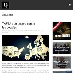 TAFTA : un accord contre les peuples
