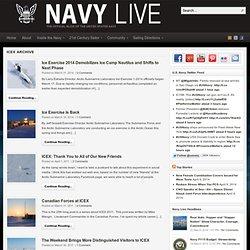 Navy Live » ICEX