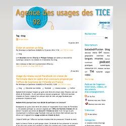 blog - Agence des Usages des TICE - 92