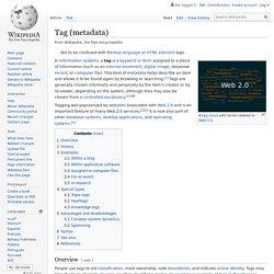 Tag (metadata)