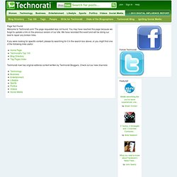Tag Page for: SemanticWeb