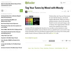 How to tag your mp3 by mood with Moody