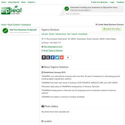 Zipleaf.us-Tagarno Solutions