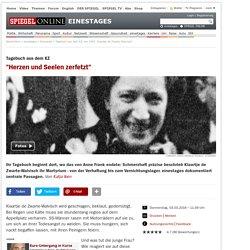 Tagebuch aus dem KZ von 1943: Klaartje de Zwarte-Walvisch