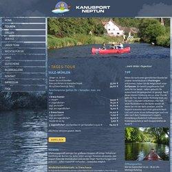 1 Tagestour – Kanu- oder Kajaktour Sulz-Mühlen – Kanusport Neptun