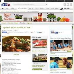 Tagine de poulet express, au wok ! - Petits Plats en Equilibre