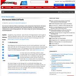 Für die tägliche Arbeit: Die besten Web-2.0-Tools