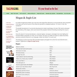 Slogans & Jingles