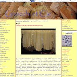 Tagliolini della Nonna (pâtes fraîches maison) - Gnocchi et Cie