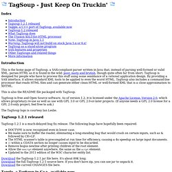 TagSoup home page
