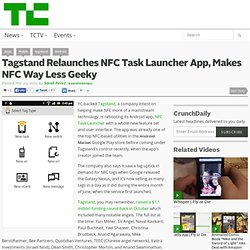 Tagstand Relaunches NFC Task Launcher App, Makes NFC Way Less Geeky