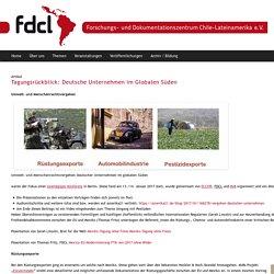 Tagungsrückblick: Deutsche Unternehmen im Globalen Süden