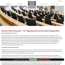 Tagungszentrum: Schloss Herrenhausen