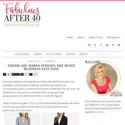 Tahari ASL Makes Finding the Right Business Suit Easy