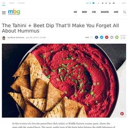 Tahini + Beet Dip