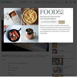 Tahini Toast recipe on Food52
