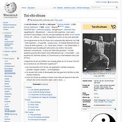 Tai-chi-chuan - Wikip?dia