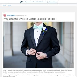 Welcome to By Vesna Custom Tailoring Tuxedo & Suit rental - Alterations