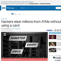 Taiwan bank ATMs spew out millions after hack - Jul. 14, 2016