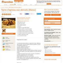 Tajine d'agneau aux abricots (Maroc) : Recette de Tajine d'agneau aux abricots (Maroc)