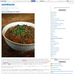 Tajine d'aubergine aux dattes - sainbiosis