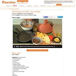 Tajine : faire un tajine en vidéo - Vidéo cuisine