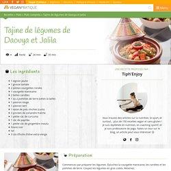 Tajine de légumes de Daouya et Jalila, recette
