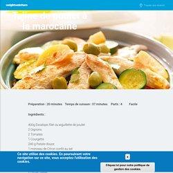 Vis : Tajine de poulet à la marocaine