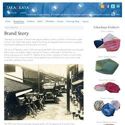 Brand Story - Takaokaya: Kyoto-style Cushions and Bedding