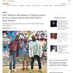 See Takashi Murakami's Trippy Cover Art for Kanye West and Kid Cudi's New Album