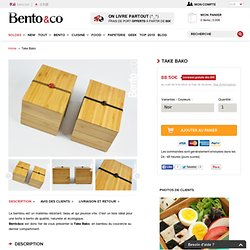 The Bento Shop - Take Bako