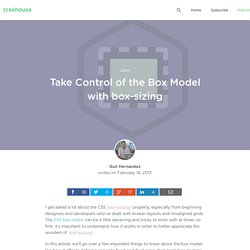 Take Control of the Box Model with Box-sizing