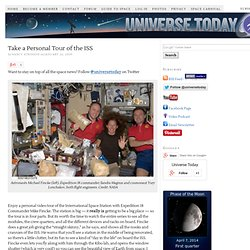 Take a Personal Tour of the ISS | Universe Today