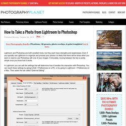How to Take a Photo from Lightroom to Photoshop