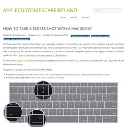 How to Take a Screenshot with a MacBook?