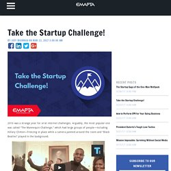 Take the Startup Challenge!