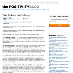 Take the Positivity Challenge!