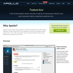 Take a Tour — Apollo