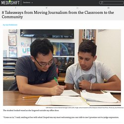 8 Takeaways from Moving Journalism from the Classroom to the Community