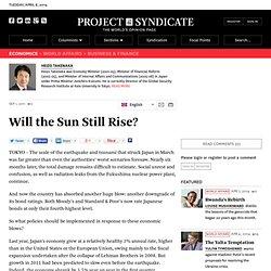 Will the Sun Still Rise? - Heizo Takenaka