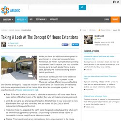 Taking A Look At The Concept Of House Extensions