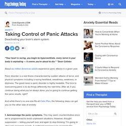 Taking Control of Panic Attacks
