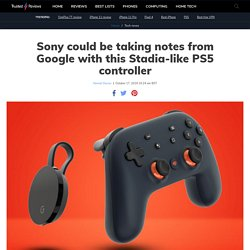 Sony could be taking notes from Google with this Stadia-like PS5 controller