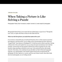 When Taking a Picture is Like Solving a Puzzle