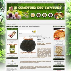 Takmaria / graines de basilic Takmaria / graines de basilic [] - - C'est Gratuit ! :