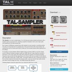 TAL - Togu Audio Line: TAL-Sampler
