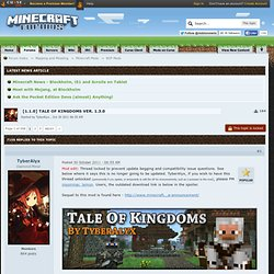 0.0] Tale of Kingdoms Version 1.3.0 pre3