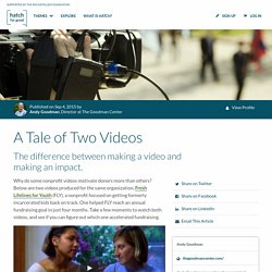 A Tale of Two Videos · Hatch for Good